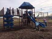 Celebrating the end of PARCC at the park!