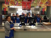 We love our Cafeteria Staff!! Thanks for all you do!!