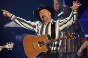 Just a little with regards to the Garth Brooks performance times