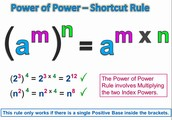 Power to a power law