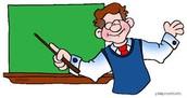The centrioles are like the teachers...