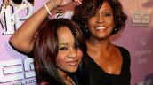 Whitney Houston with her daughter, Bobbi Kristina Brown