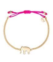 *SOLD* Wishing Bracelet, Gold Elephant $10