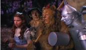Dorothy, the Scarecrow, the Lion, and the Tin Man