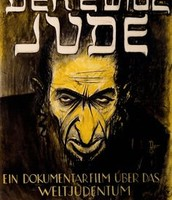 Anti-sematic propaganda poster