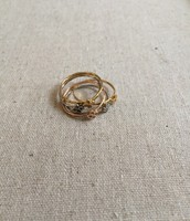 Morely Flower Stack Ring