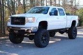 White Gmc Sierra Truck