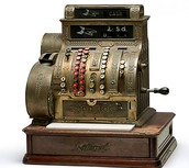 our shop sells the best cash registers in town from old to new
