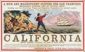 1849-Calfornia gold rush starts