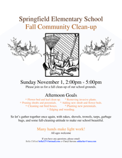 Garden Club's Fall Community Cleanup
