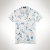 Camisa de polo splatter-instalación