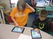 Xtra Math on the iPads