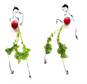 10 Dresses made from fruits and veggies