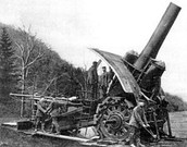 Big Bertha is an artillery gun invented by the Germans