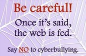 Don't be the cyberbully be a friend
