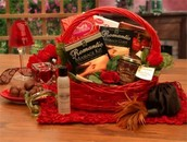 Romance Basket - $75