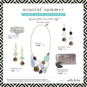 NEUTRAL SUMMER TRUNK SHOW EXCLUSIVE OFFERS FOR APRIL!