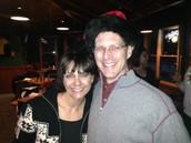 Ho-Ho-Ho!  Christina and Joel