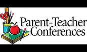 Parent Conference Window:  October 3rd-November 18th