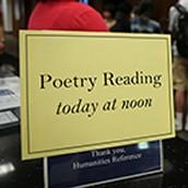 Wednesday Poetry Event