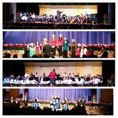 Congratulations on a Fabulous Music of the Holidays Concert!