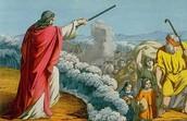 משה חוצה את ים סוף לשניים