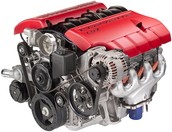 Chevrolet LS7 Motor