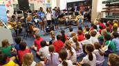 5D - WIS visit: Music legends