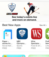Apple App Store Layout
