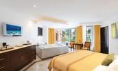 Spacious Deluxe Resortview rooms