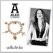 "Alice Temperley ""Wonderland Charm"" Bracelet"