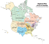 Canada & US Map