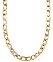 Christina Link Necklace in gold
