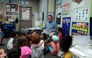 Thank you Mr. Hicks for reading to us!