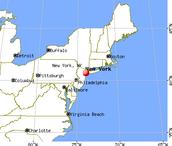 NY, NY MAP