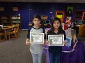 Top Readers in 5th Grade