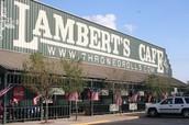 Lambert's Cafe in Foley, AL