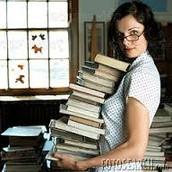 la biblioteclaria
