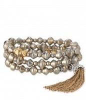 Milana Tassel Bracelet $25