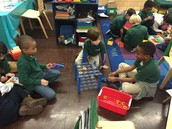 1A and 1B Centers Time