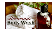 STEP 2: Shower with non-toxic bath soap