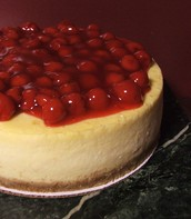 Our Very Cherry Cheesecake