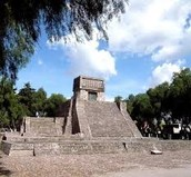 Aztec Temple to the Gods