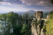 Schönes Naturlandschaft Deutschland