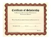 Scholarships: