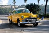 Los Carros en Cuba