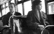 Rosa Parks on the bus