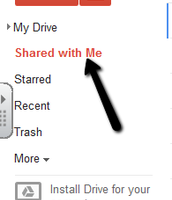 Google Tip Tuesday: Shared with Me