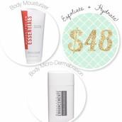 Exfoliate and Hydrate