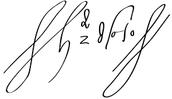 Hernando de Soto signature